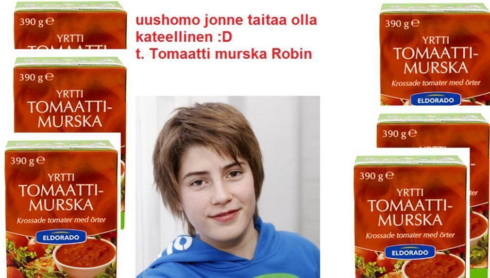 Tomaattimurska Robin