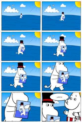 Hassu moomin sarjakuve