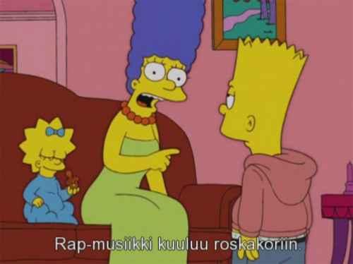 Marge tietää mistä puhuu