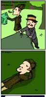 Sherlock ja Watson.