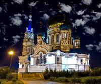 Uspenskin katedraali Omskissa