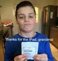 Kiitti mummi!