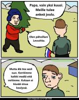 Venäläinen joulu.