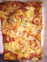 Eilistä pizzaa (á la chef microwave)