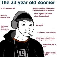23 vuotias zoomeri