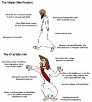 virgin prophet vs Chad Messiah