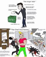 virgin äänestys vs chad vallankaappaus