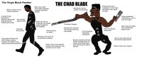 virgin panther vs The Chad Blade
