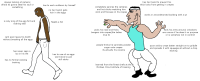 virgin egg king vs The Crepe Chad (incl. reference)