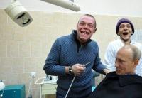 Vova-setä käy hammaslääkärissä