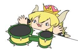 Meemimorfoosi: Bowsette + Bongo Cat
