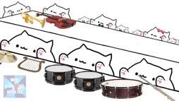 Bongo Cat esiintyy