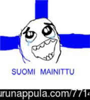 Suomi mainittu!