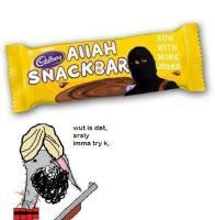 take a bite of snack