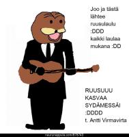Antti Virmavirta :DD Ruusulaulu :D