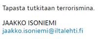 Tapas terrorismia