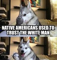 Koira murjaisee vitsin