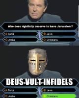 Deus vult, motherfuckers