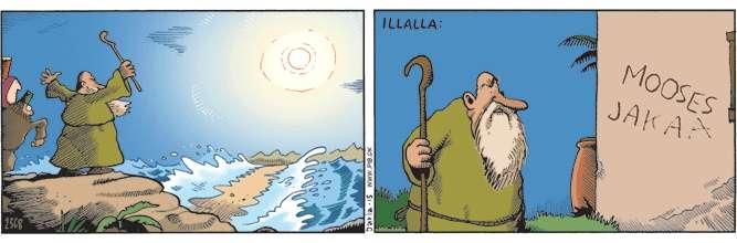 Mooses jakaa