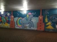 Kontulassa vandalismia