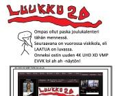 JOULUKALENTERI! LUUKKU 20!