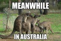 Sillä aikaa Australiassa
