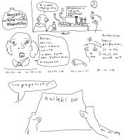 13 vuotiaana tekemä sarjakuvani