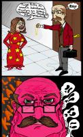 Täs sarjakuvas naisten pitää tietää paikkansa