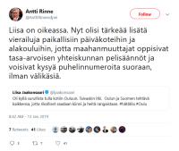 Liisa jaakonsaari meni trolliin
