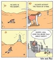 Aavikon koettelemukset