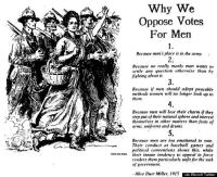 Miesten äänioikeutta vastaan