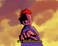 Nyt on jo maanantai
