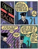 Käärme ja Pekoni