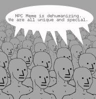 NPC-vitsi ei mukaile ihmisoikeuksia