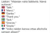 Mistä tuntee suomalaisen