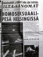 Homoja Helsingissä!