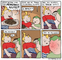 Pähkinäallergia