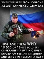 Krim on osa Venäjää