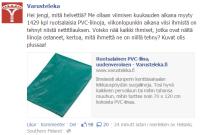 Ruotsalainen PVC-liina