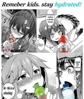 Juokaa säännöllisesti vettä :)