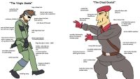 Virgin snake vs chad ocelot