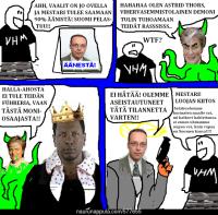 Halla-aho-sarjakuvat