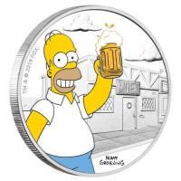 Simpsonien 30-vuotisjuhlaraha