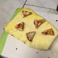 Ananas pizzalla