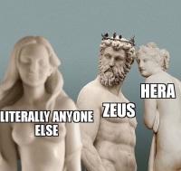 Zeus, vanha heruttaja