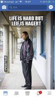 Leif is hagert