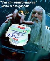 Maitorahka-Gandalf ja kumppanit