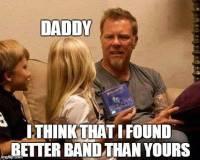 Lapset kertoo James Hetfield:denille Megadethistä