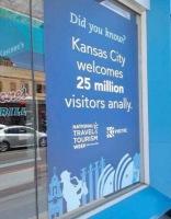 Kansas City pyllistää vierailijoille xD