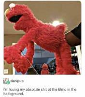 Elmo not likey
